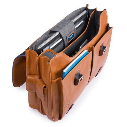 Портфель с двумя замками Piquadro CA1068B2S/BLU