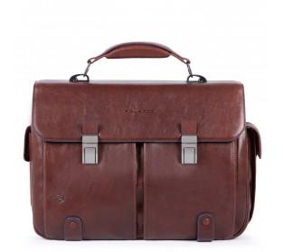 Портфель с двумя замками Piquadro CA1068B2S/TM