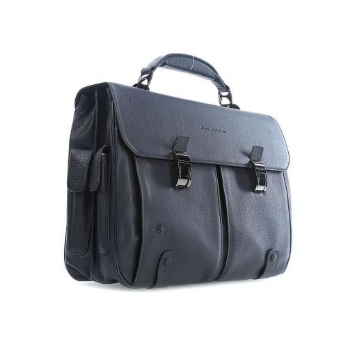 Портфель с двумя замками Piquadro CA1068B3/BLU